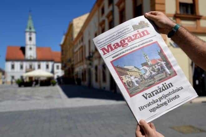 Varazdin, lebenswerteste Stadt in Kroatien