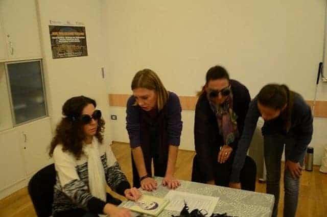 Beim Workshop nahmen über zwanzig Fremdenführer aus Istrien teil. Foto: Savez slijepih